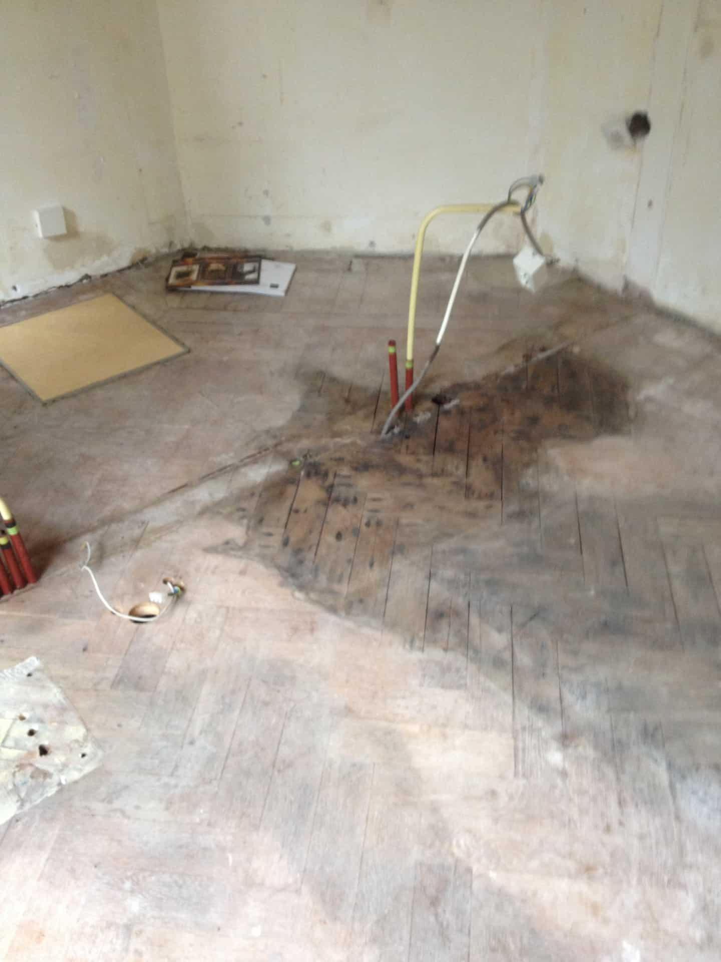 Herstellen complete vloer Floortec