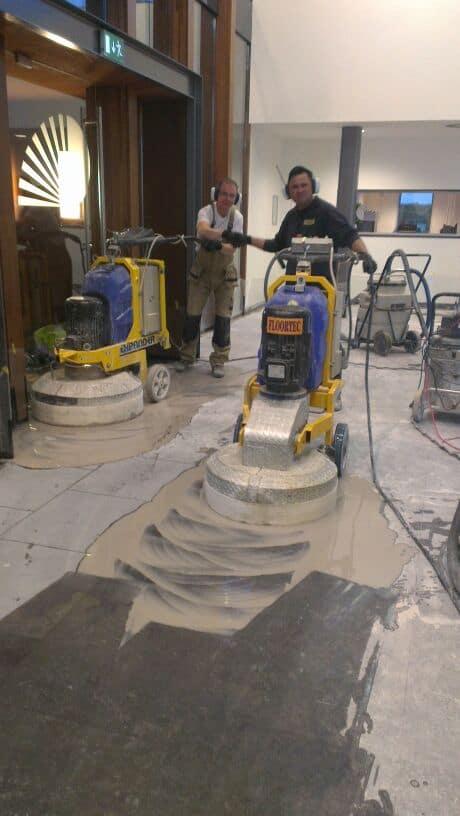 Natuursteenvloer herstellen Floortec