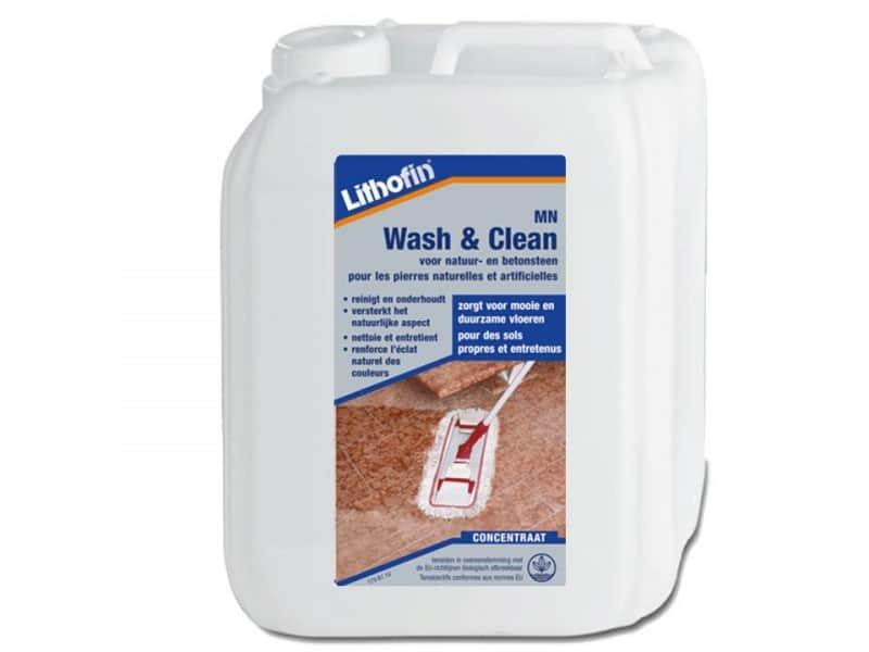 Lithofin Wash & Clean 5 liter voor Natuursteen onderhoud