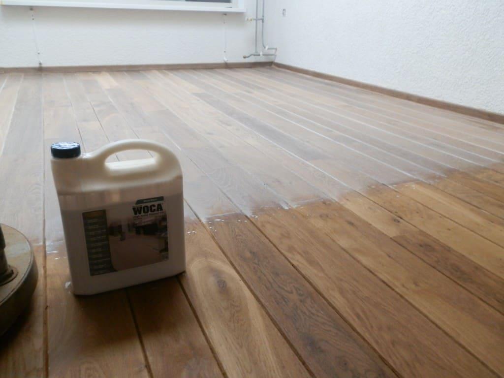 Kleurolie Eiken Vloer : Houten vloer schuren en oliën ook eiken u floortec is uw specialist