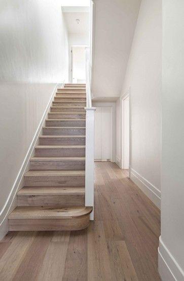 parket voor op de trap