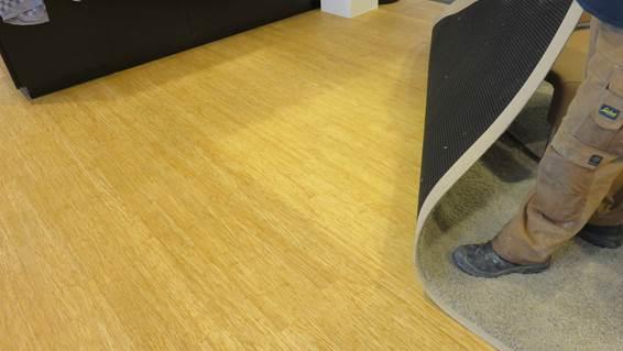 Bamboe Vloer Utrecht : Stadskantoor bamboevloer floortec