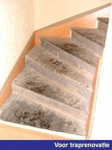 Voor traprenovatie floortec