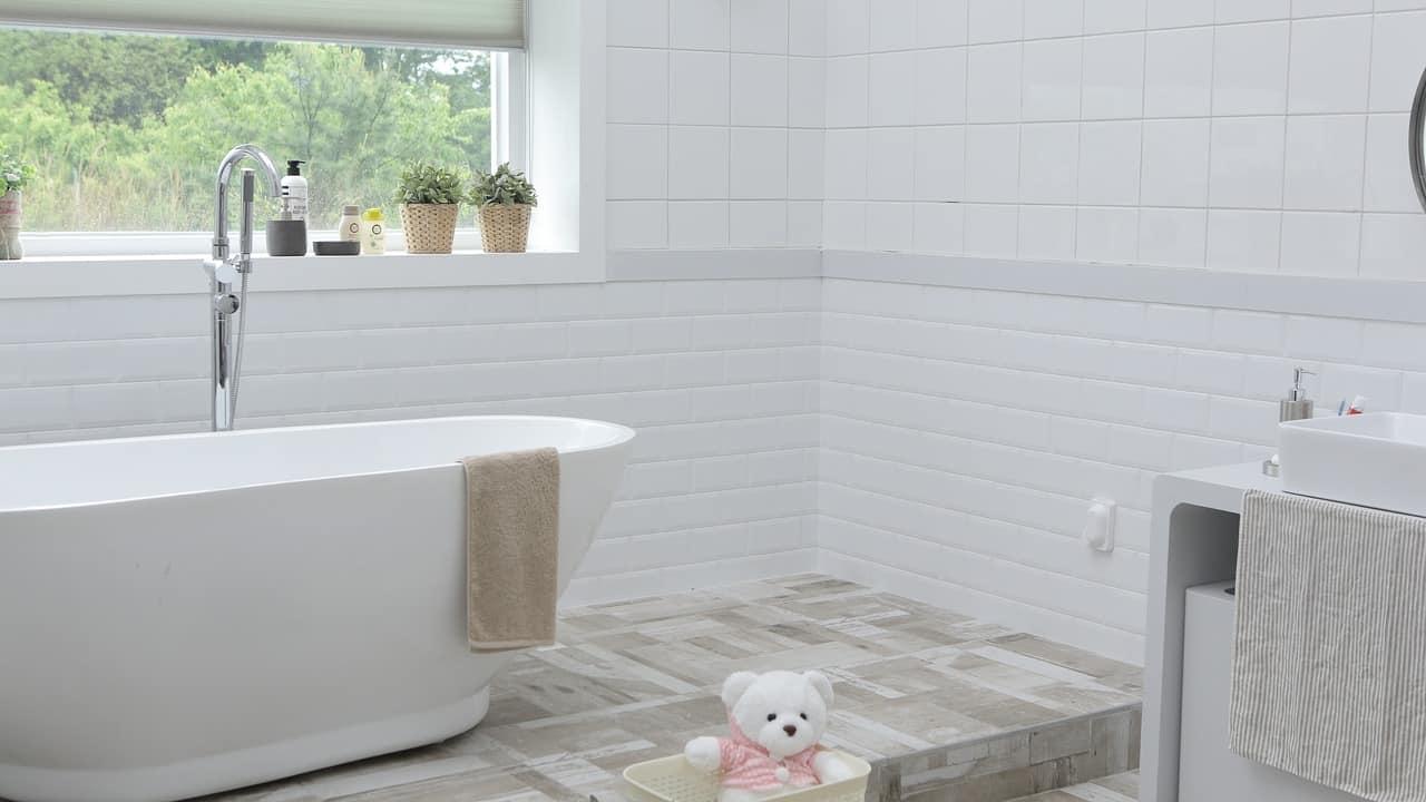badkamer met PVC vloer - Floortec