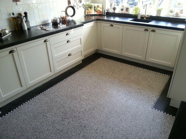 marmeren keukenvloer