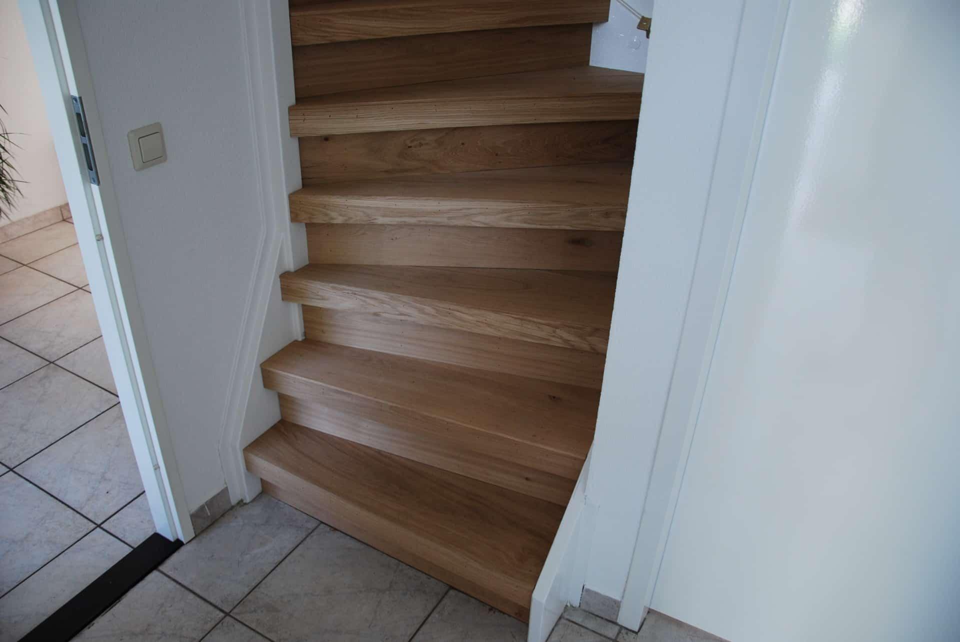 gerenoveerde trap Floortec
