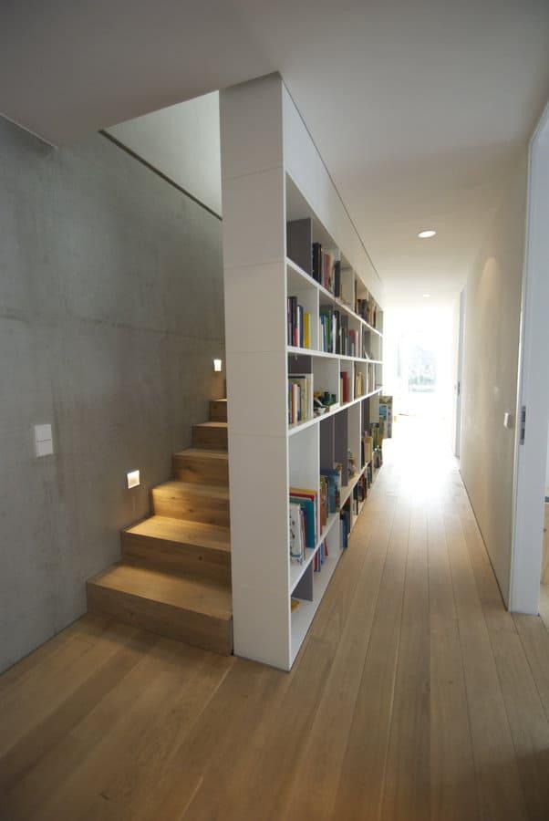 een houten trap