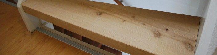 houten trap gerenoveerd