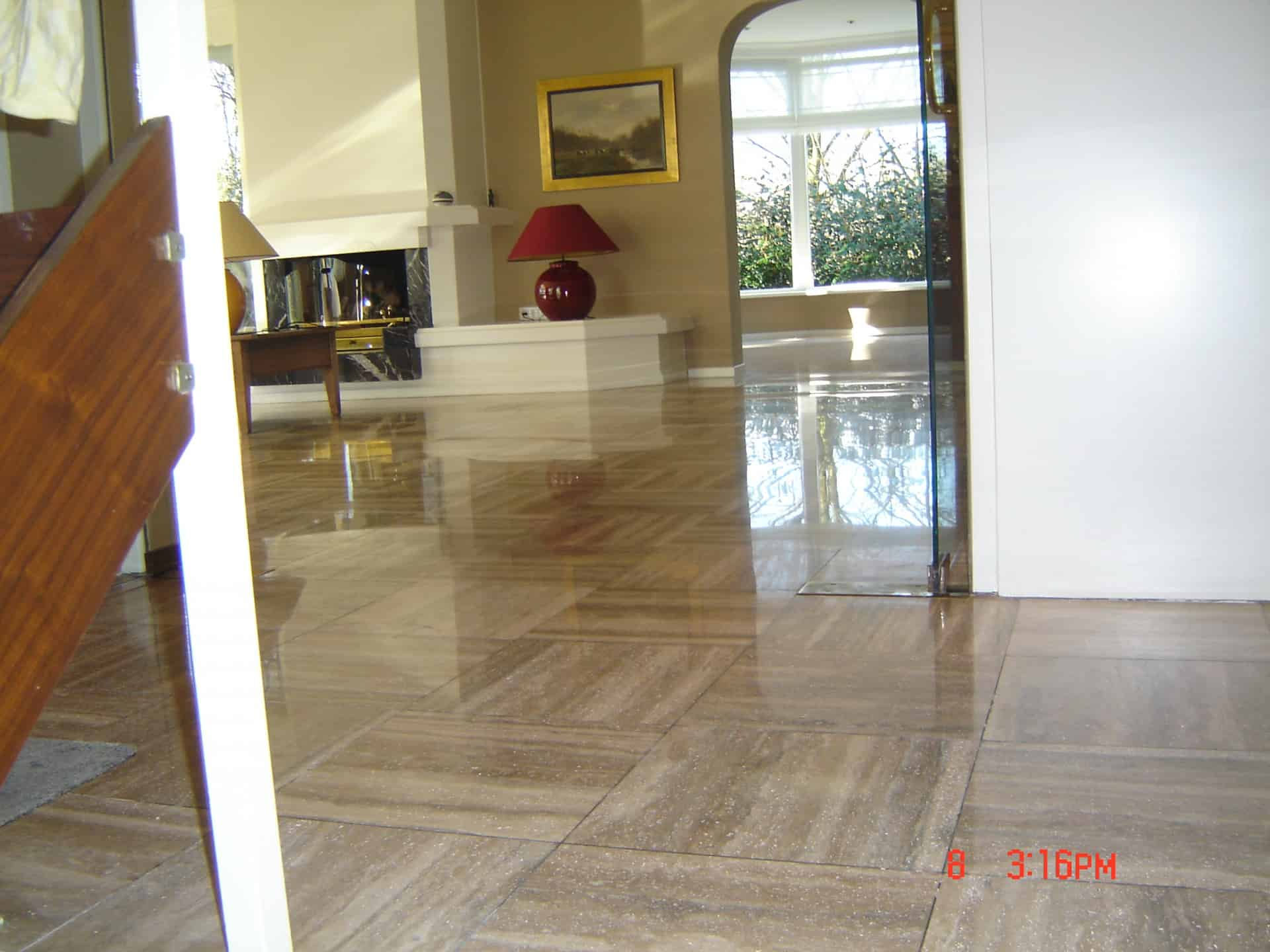 Travertin floortec
