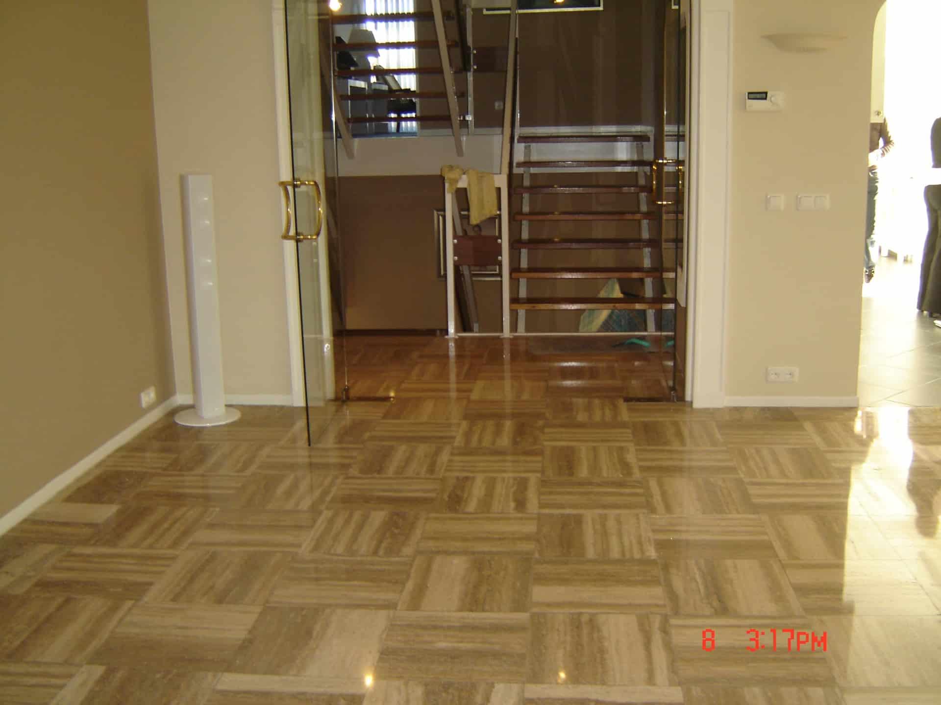 Floortec travertin